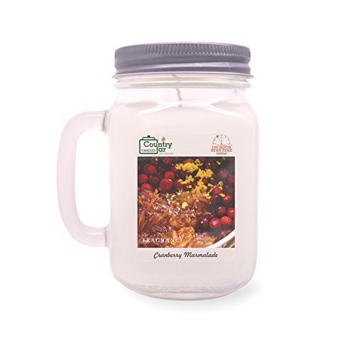 Country Jar Cranberry Marmalade Soy Candle (14.5 oz. Mason Jar) Spring Pick-3 Sale! See Details. ()