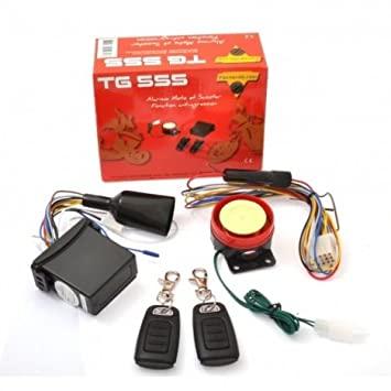 Alarma moto, scooter y Quad Tecno globe TG 555: Amazon.es ...