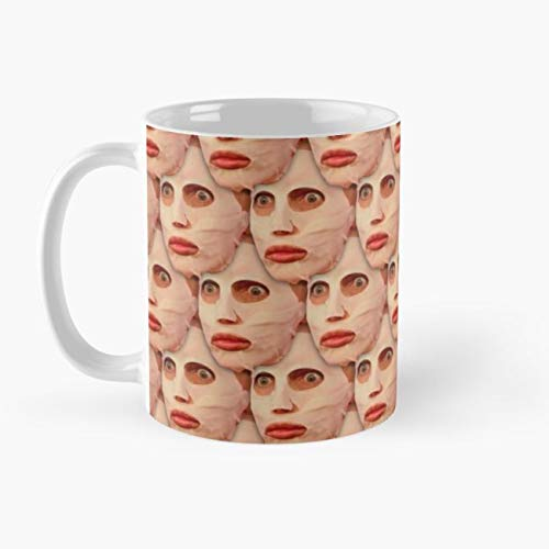gocontigo - Alyssa Edwards Beauty Mask Pattern Mug 11 Oz White - Edward Pattern