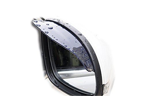 Snowmobile Side Mirrors : Universal car rear view side mirror rain snow shield