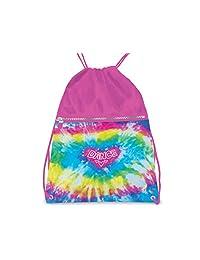 Love Tie Dye Dance Drawstring Backpack for Girls by Danshuz