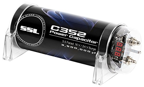 Sound Storm C352 3.5 Farad Car Capacitor for Energy Storage to Enhance Bass Demand from Audio System by Sound Storm Laboratories (Image #2)