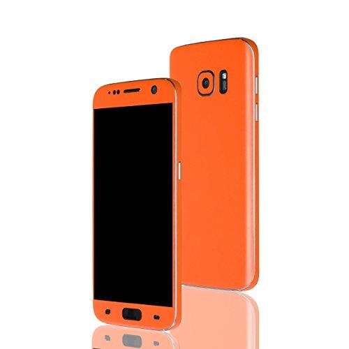 AppSkins Folien-Set Samsung Galaxy S7 Color Edition orange