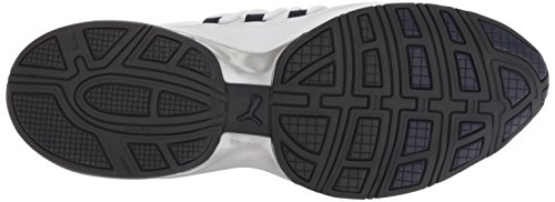PUMA Men's Cell Regulate SL Sneaker, White Black-Peacoat Silver, 7 M US by PUMA (Image #3)