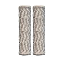 Watts Premier 500181 5-Micron String Wound Sediment Replacement Filter, 2-Pack