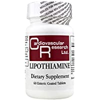 Cardiovascular Research Lipothiamine, White, 60 Count