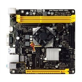Biostar Motherboard A68N-5600 AMD A10-4655 A70M up to 32GB DDR3 SATA PCI Express HDMI/VGA Mini-ITX Retail ()