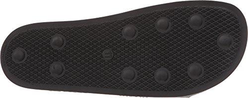 Adidas Di Raf Simons Mens Adilette Scacchiera Core Nero / Core Nero / Granito