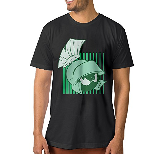 Price comparison product image A-Custom Marvin The Character Martian Men's Funny Tees Black M