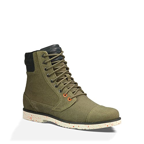 Teva Men's Mason Waxed Canvas Casual Boot
