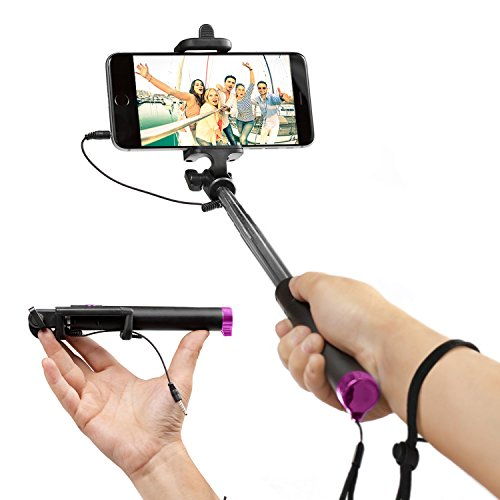 EEZ Y Foldable Selfie Stick Connectivity