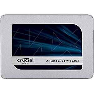 Crucial MX500 500GB 3D NAND SATA 2.5 Inch Internal SSD, up to 560MB/s - CT500MX500SSD1 41eY2%2BfI9eL. SS300