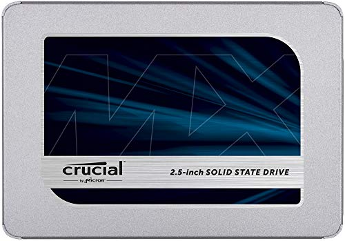 Crucial MX500 500GB 3D NAND SATA 2.5 Inch Internal SSD - CT500MX500SSD1