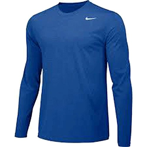 Royal Nike Legend (NIKE Mens Longsleeve Legend - Royal - Large)