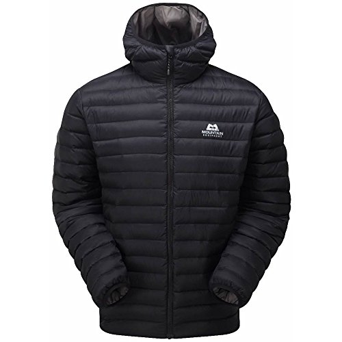 (Small, Black) - Mountain Equipment Mens Arete Hooded Jacket