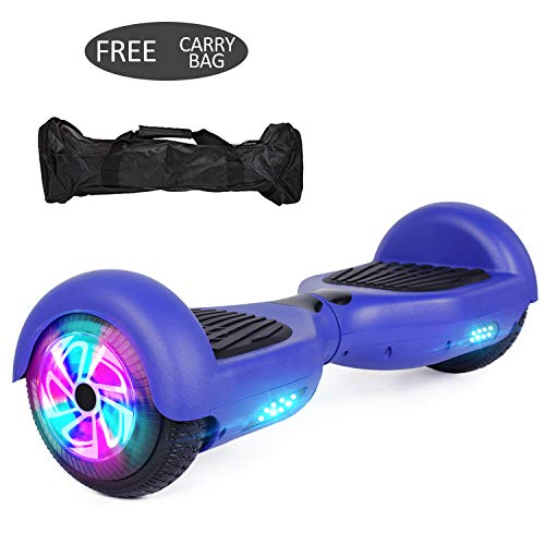 VEVELINE 6.5 inch Hoverboard for Kids Adults w/Bluetooth Speaker – Contrast Color