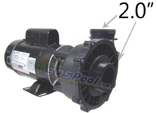 Waterway 1 Speed 2.0 HP 115V 230V Spa Pump 3410830-1A by Waterway