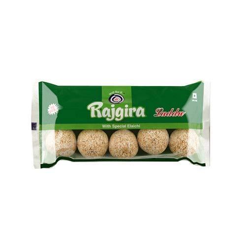 Bhavani Foods Shreeji Premium Pure Rajgira Ladoo (Pack of 6) (Each Pack 10 Pieces) (60 Ladoo's Total)