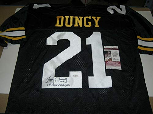 - Tony Dungy Autographed Jersey - Sb Xiii Champs Last One! coa - JSA Certified - Autographed NFL Jerseys