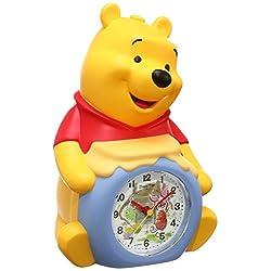 SEIKO CLOCK ( Seiko clock ) Winnie the Pooh three-dimensional talking alarm clock FD463A