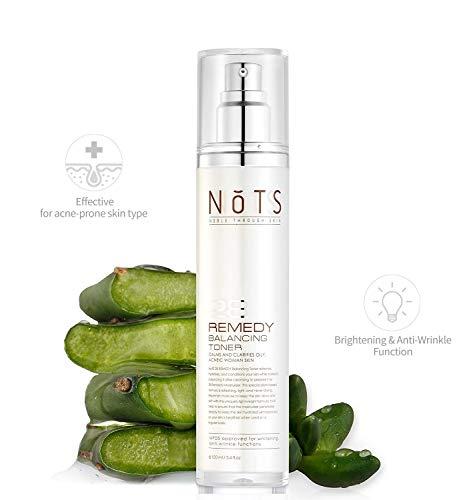 NOTS 28 Remedy Balancing Toner - Nopal Cactus Soothe Acne-prone and Sensitive Skin + Anti Aging Toner + Clear Blemishes & Acne Scars (Remedy BalancingToner)