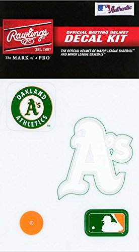 fan products of Rawlings Sporting Goods MLBDC Decal Kit, Oakland As