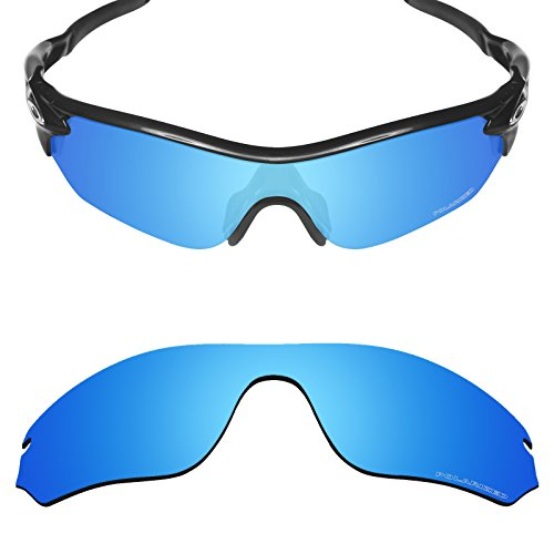Mryok+ Polarized Replacement Lenses for Oakley RadarLock Edge - Ice (Edge Replacement Lenses)