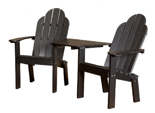 Cheap Little Cottage Classic Tete a Tete Deck Adirondack Chair
