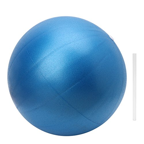 Redriver 25cm Yoga Ball Physical Fitness Exercise Balance Ball with Straw