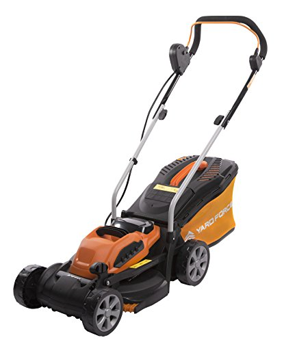 Yard Force 32cm Cordless Rotary Lawnmower with 40V Lithium-Ion Battery and...