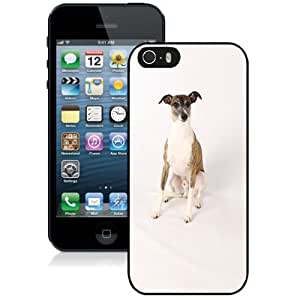 Fashionable Designed Cover Case For iPhone 5S With Greyhound Animal Mobile Wallpaper Phone Case