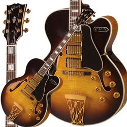 Gibson Custom Shop HS5SVSGH1 Hollow-Body Electric Guitar, Vintage Sunburst