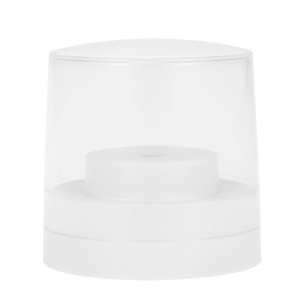 Anself 60 Holes Nail Drill Bit Holder Dental Bur Stand Displayer Organizer Container Plastic Nail Dental Accessory W4565-HMMFBA