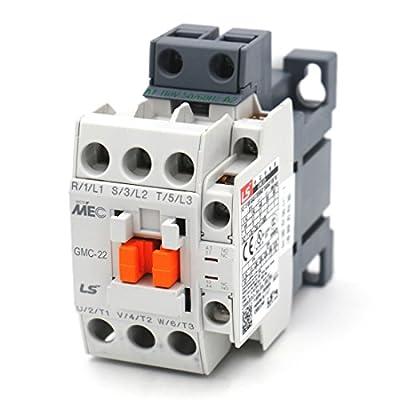 Baomain GMC-22 MEC Magnetic AC Contactors 110VAC 50/60Hz 1a1b DIN Rail UL