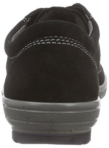 Femme Sneakers Noir 00 Legero Tanaro Basses Noir paRt171n