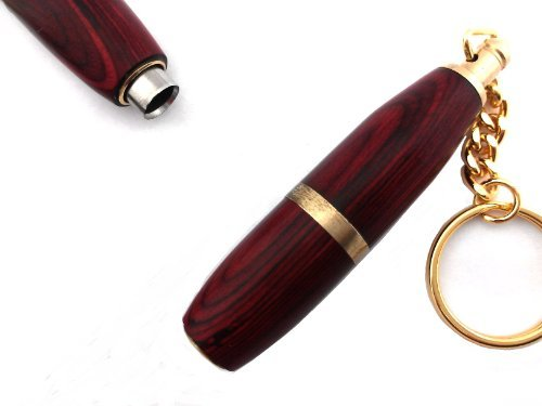 ShowJade Twisted Cigar Punch Cutter - RoseWood - Key ()
