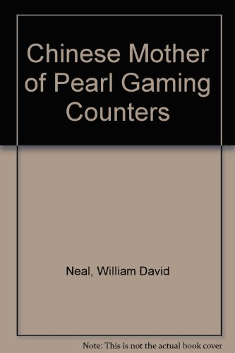 Chinese Mother of Pearl Gaming Counters Pearl Gaming Counter