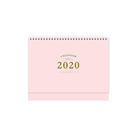 huihuay 2020 - Planificador de Mesa de Escritorio con Espiral de ...
