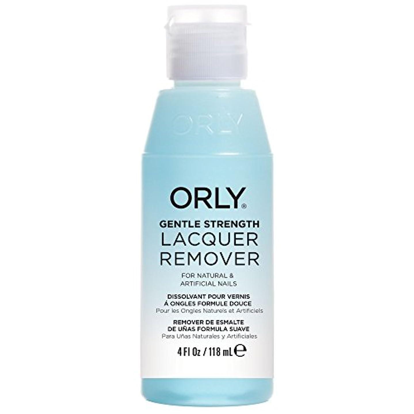 完璧乳剤記念日ORLY(オーリー) ネイルラッカーリムーバー ジェントル 118mL (ノンアセトン)