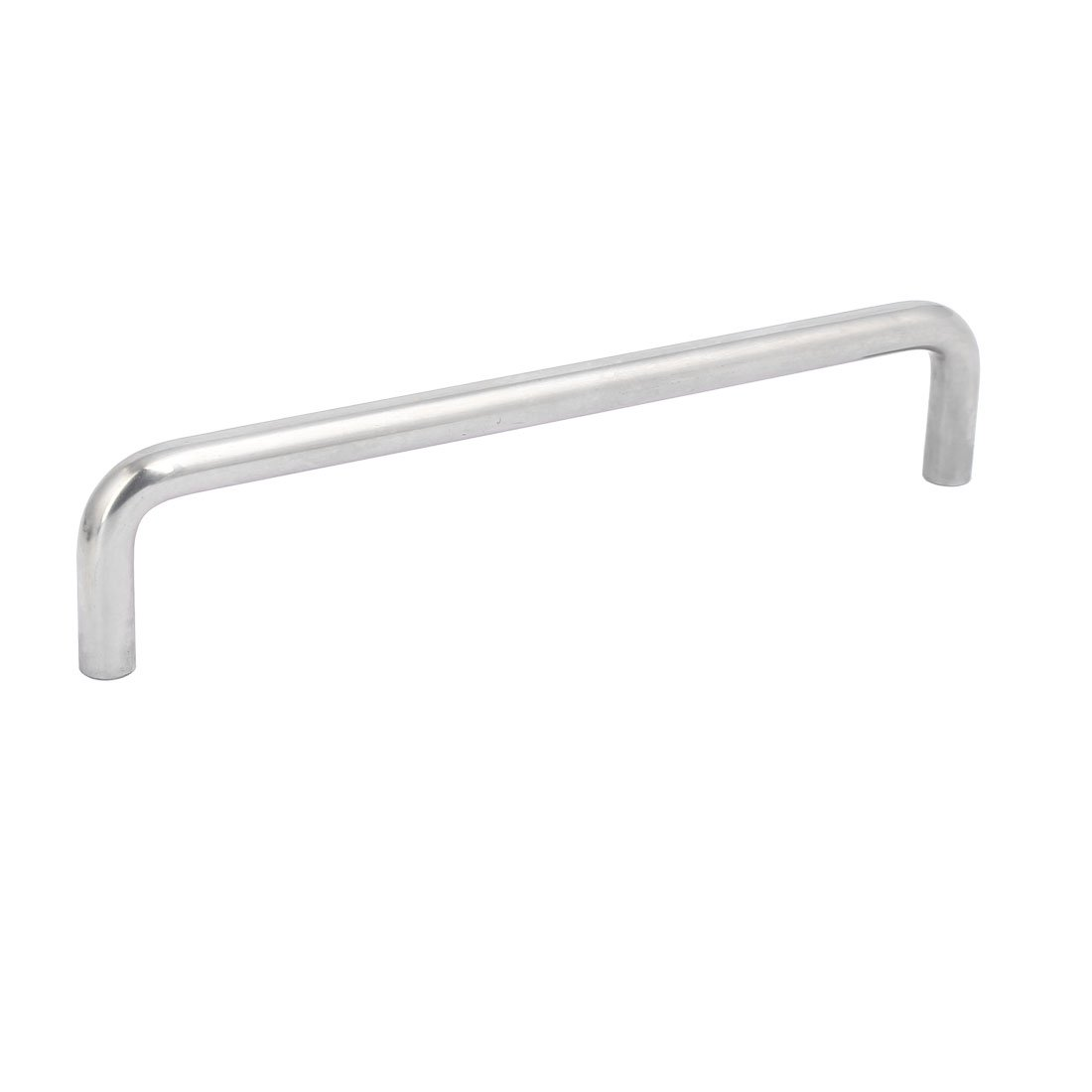 uxcell Cabinet Wardrobe Drawer 180mm Hole Spacing Stainless Steel U Bar Pull Handle