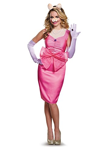 Miss Piggy Deluxe Adult Costume - Medium