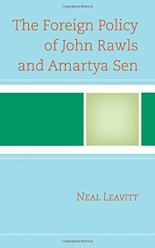 The Foreign Policy of John Rawls and Amartya Sen