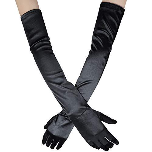 Long Sleeve Black Gloves (Xuhan Women's 21