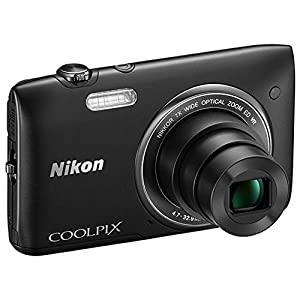 Nikon COOLPIX S3500 20.1 MP Digital Camera with 7x Zoom (Black)