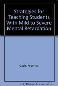 how to teach a child with mild mental retardation