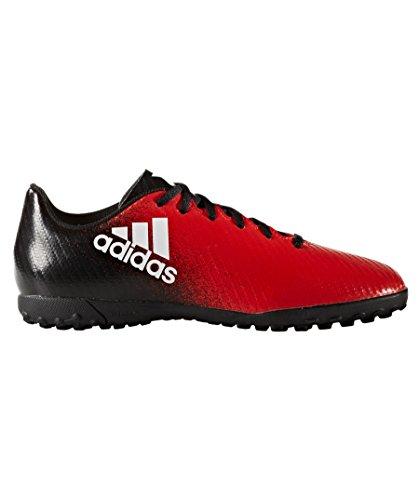 adidas X 16.3 TF J, Botas de Fútbol Para Niños rojo