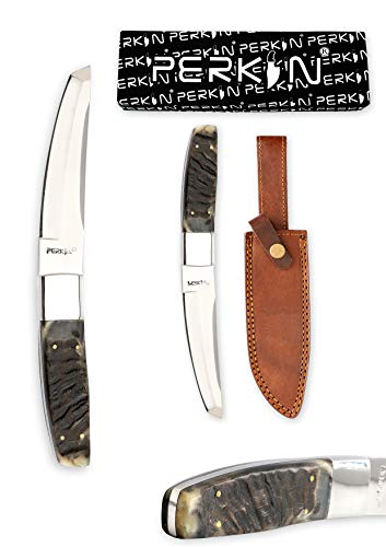 Perkin Now Handmade Hunting Knife – 440c Steel – Tanto Blade & Ram's Horn Handle Review