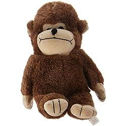 Multipet Look Who's Talking Monkey Dog Toy