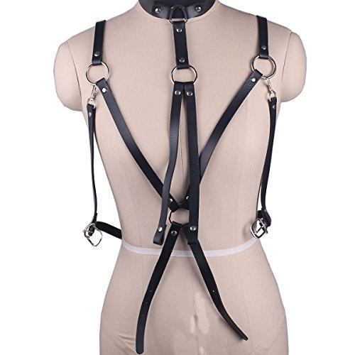 07c287c044 Wyenliz Women s Bra -Punk Belt Body Chain Sexy Harness Straps Suspenders  Adjustable