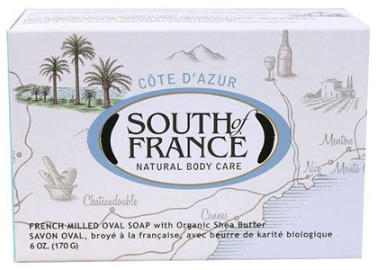 South Of France Bar Soap, Cote D'Azur, 6 Oz ( Multi-Pack)